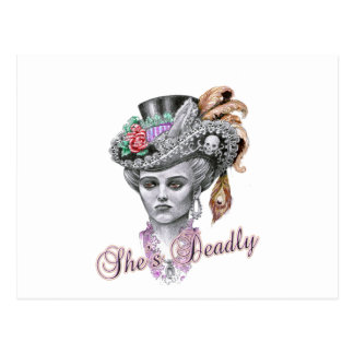 She's Deadly Postcard