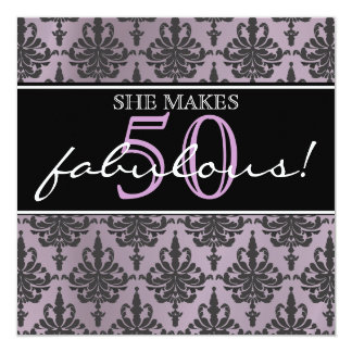 She's Fabulous! Birthday Party Invitation