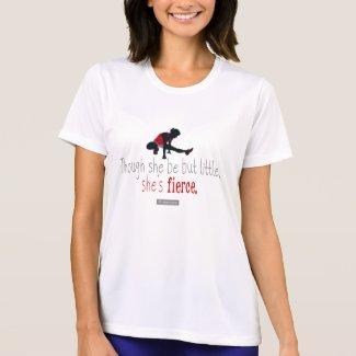 She's fierce - Fitness motivation - Shakespeare