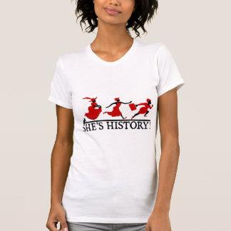 She's History Tshirt