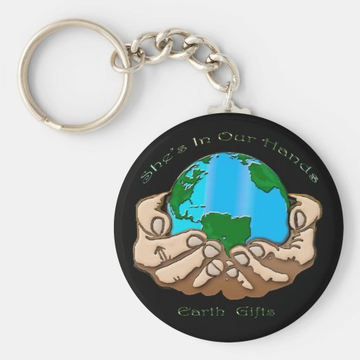 SHE'S IN OUR HANDS Collection Keychains