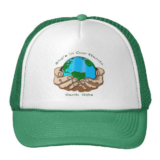 SHE'S IN OUR HANDS Earth-lover Environmental Gift Trucker Hat