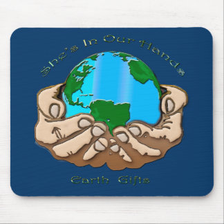 SHE'S IN OUR HANDS Eco Environmental Mouse Pad