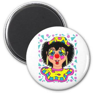 She's KOLO Clown 2 Inch Round Magnet