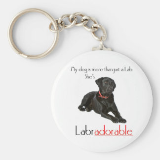 She's Labradorable Keychain