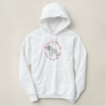 She's My Bichon Embroidered Hoodies