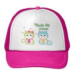 She's my girl trucker hat
