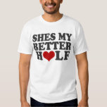 Shes My Sweeter Half T-shirts