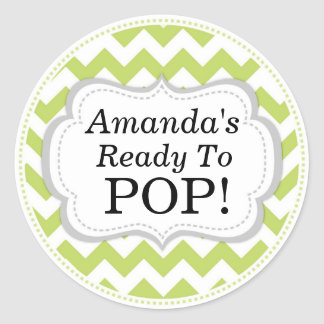 Ready to pop stickers zazzle for Shes ready to pop stickers