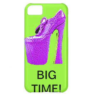 SHE'S STEPPING OUT BIG TIME! VIOLET HI HI SHOES iPhone 5C CASES