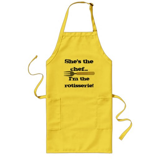She's the Chef Long Apron