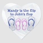 she's the flip to my flop heart stickers