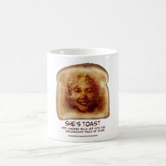 She's Toast Classic White Coffee Mug