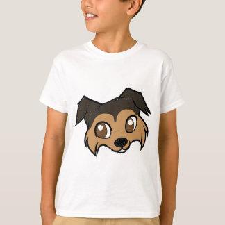 shetland 2 sided head cartoon.png T-Shirt