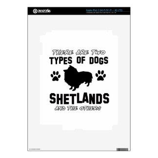 shetland dog Designs Decals For iPad 3