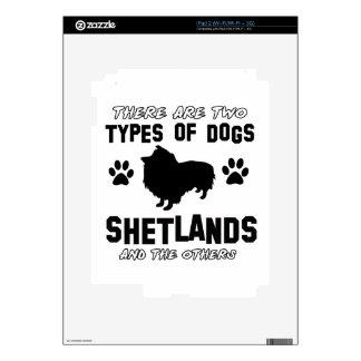 shetland dog Designs iPad 2 Skin