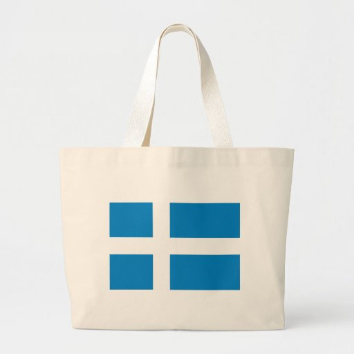 Shetland Flag Canvas Bags
