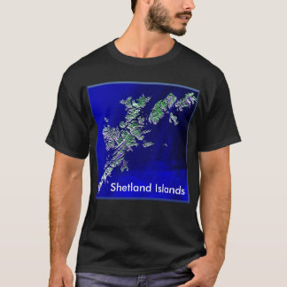 Shetland Islands Mens Dark Basic T-shirt