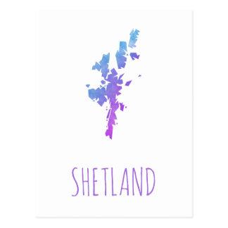 Shetland Islands Postcard