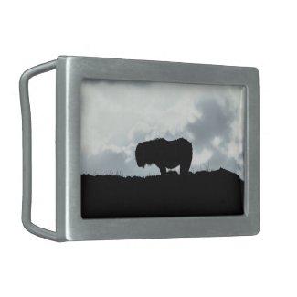 Shetland pony belt buckle
