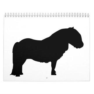 Shetland Pony Calendar