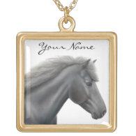 Shetland Pony Customizable Necklace