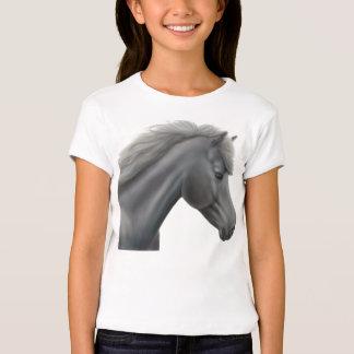 Shetland Pony Girls Baby Doll Shirt