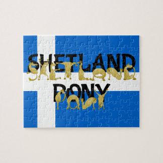 Shetland Pony Jigsaw Puzzle