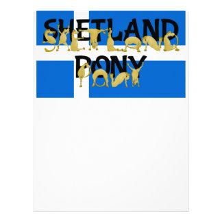 Shetland Pony Letterhead