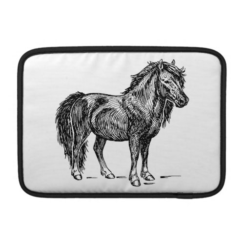 Shetland Pony MacBook Sleeve
