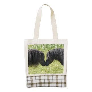 Shetland pony mare and stallion bag