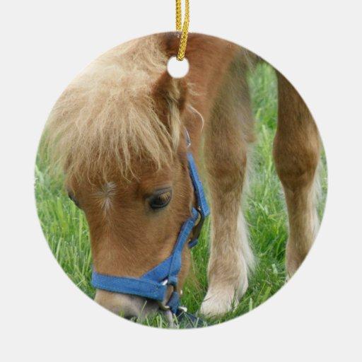 Shetland Pony Ornament