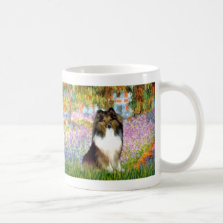 Shetland Sheepdog 14 - garden Classic White Coffee Mug