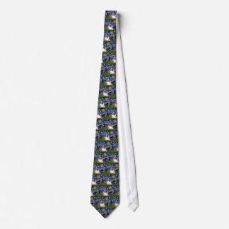 Shetland Sheepdog 17 - Starry Night Neck Tie