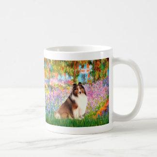Shetland Sheepdog 7 - Garden Classic White Coffee Mug