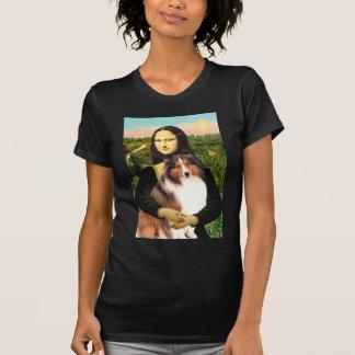 Shetland Sheepdog 7b - Mona Lisa T Shirts