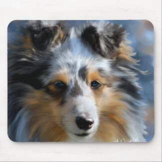 Shetland Sheepdog Art Mousepad