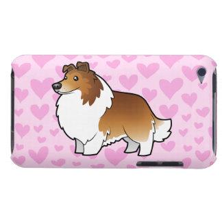 Shetland Sheepdog / Collie Love iPod Touch Case-Mate Case