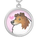 Shetland Sheepdog / Collie Love Necklaces