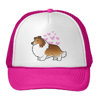 Shetland Sheepdog / Collie Love Trucker Hat