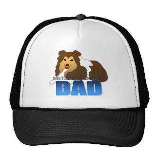 Shetland Sheepdog Dad Trucker Hat