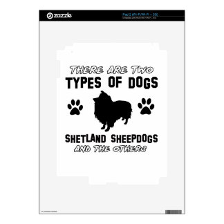 shetland sheepdog dog Designs Decals For The iPad 2
