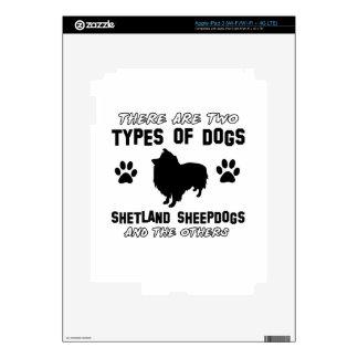 shetland sheepdog dog Designs iPad 3 Decals