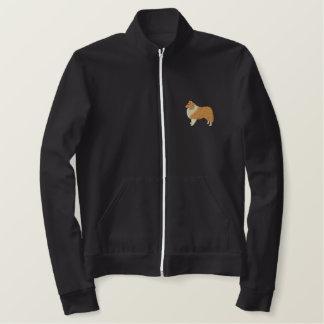 Shetland Sheepdog Embroidered Jacket