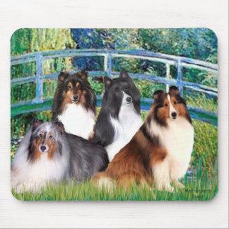 Shetland Sheepdog (four) - Bridge Mouse Pad