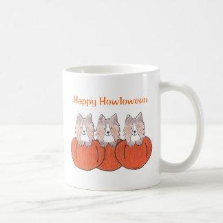 Shetland Sheepdog Happy Howloween Mug