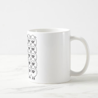 Shetland Sheepdog in the Sheep Coffee Mug
