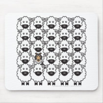 Shetland Sheepdog in the Sheep Mouse Pad