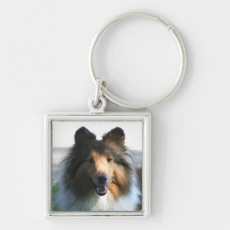 Shetland Sheepdog keychain