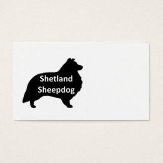 shetland sheepdog name silo black.png business card